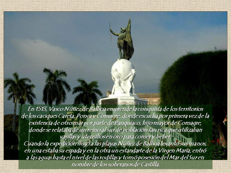 existencia de otro mar por parte de Panquiaco, hijo mayor de Comagre,
