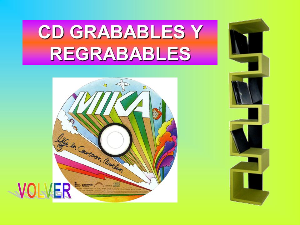 CD GRABABLES Y REGRABABLES