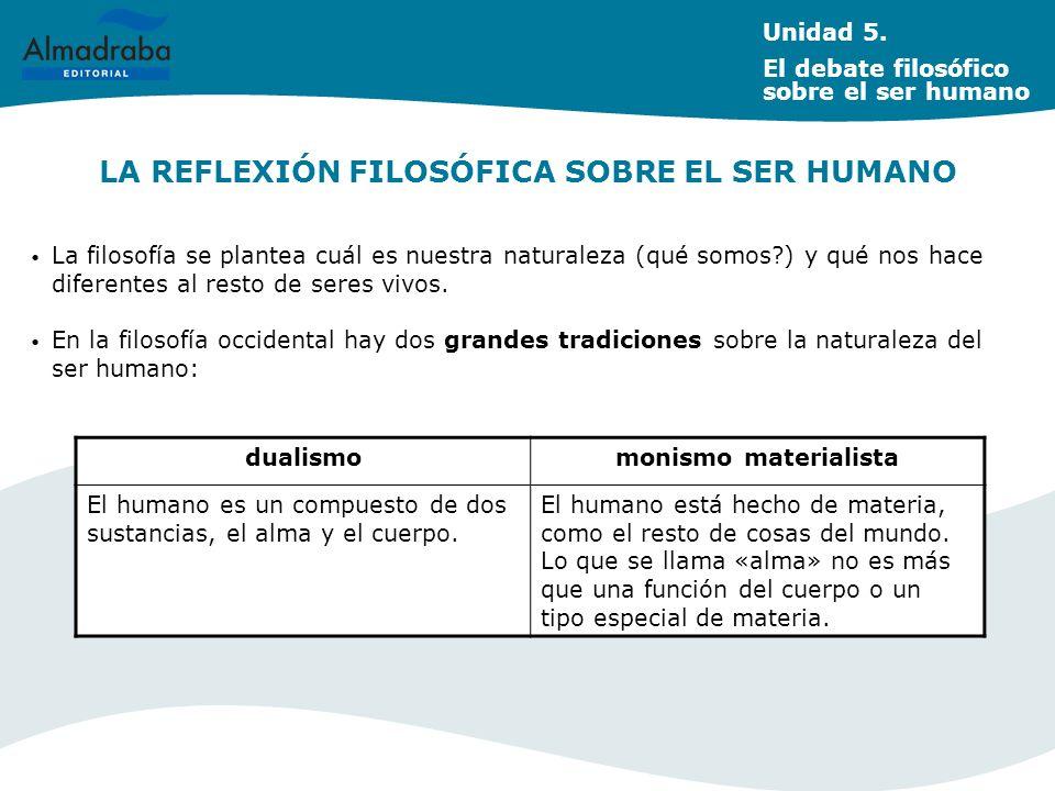 LA REFLEXIÓN FILOSÓFICA SOBRE EL SER HUMANO