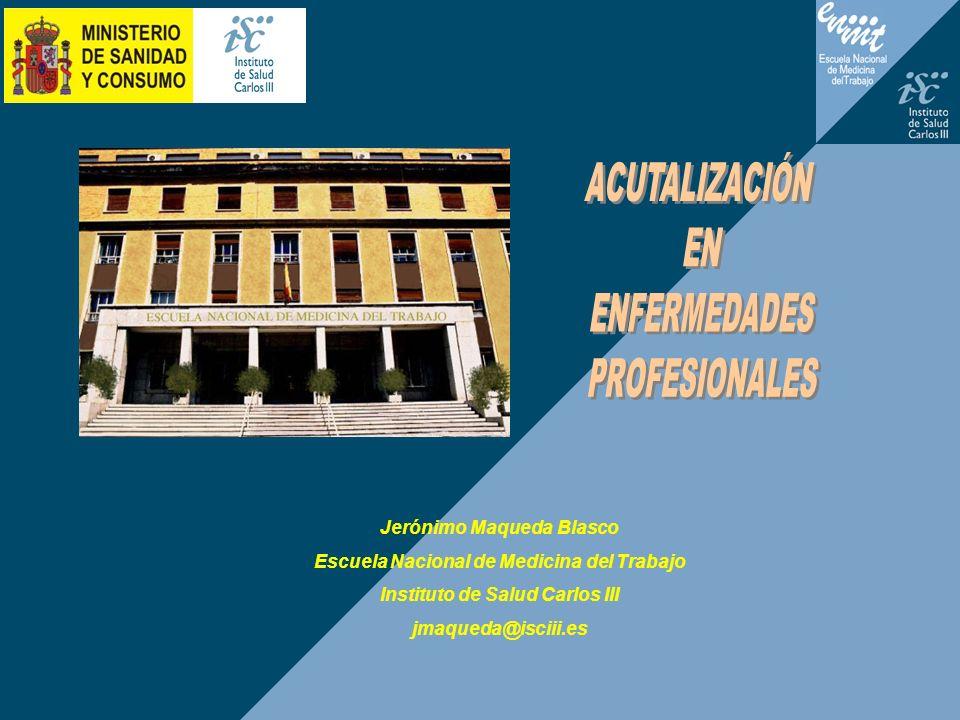 ACUTALIZACIÓN EN ENFERMEDADES PROFESIONALES