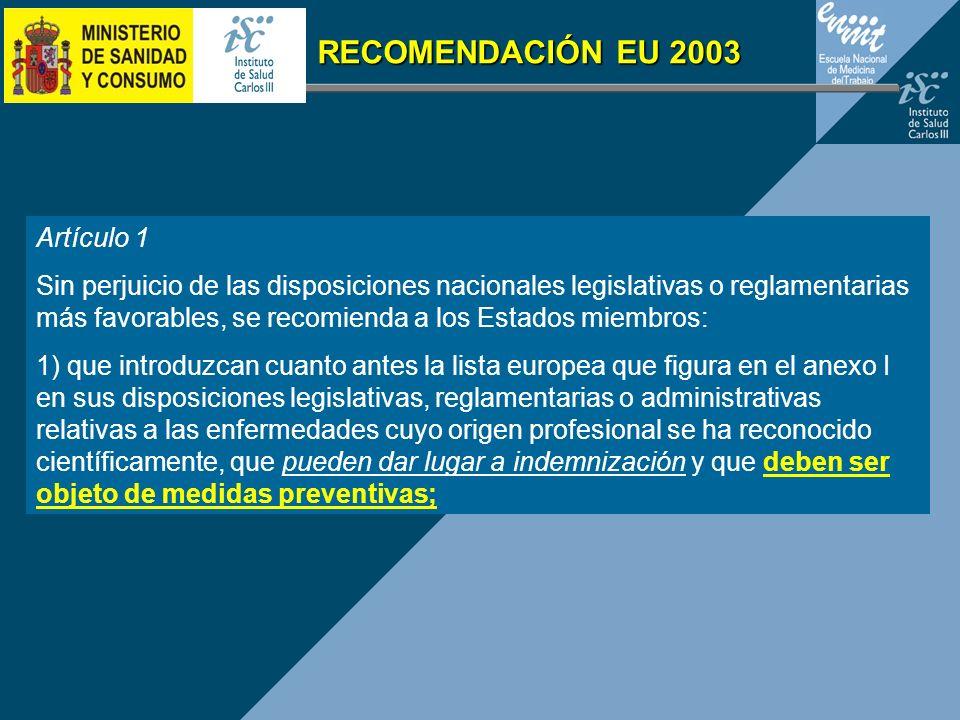 RECOMENDACIÓN EU 2003 Artículo 1