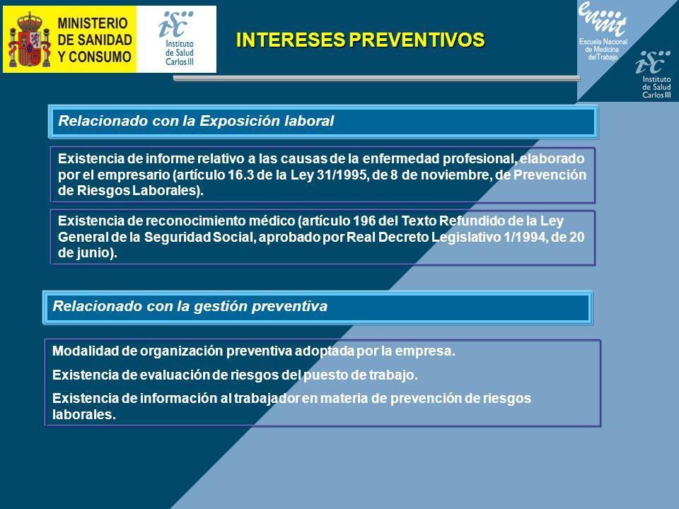 INTERESES PREVENTIVOS