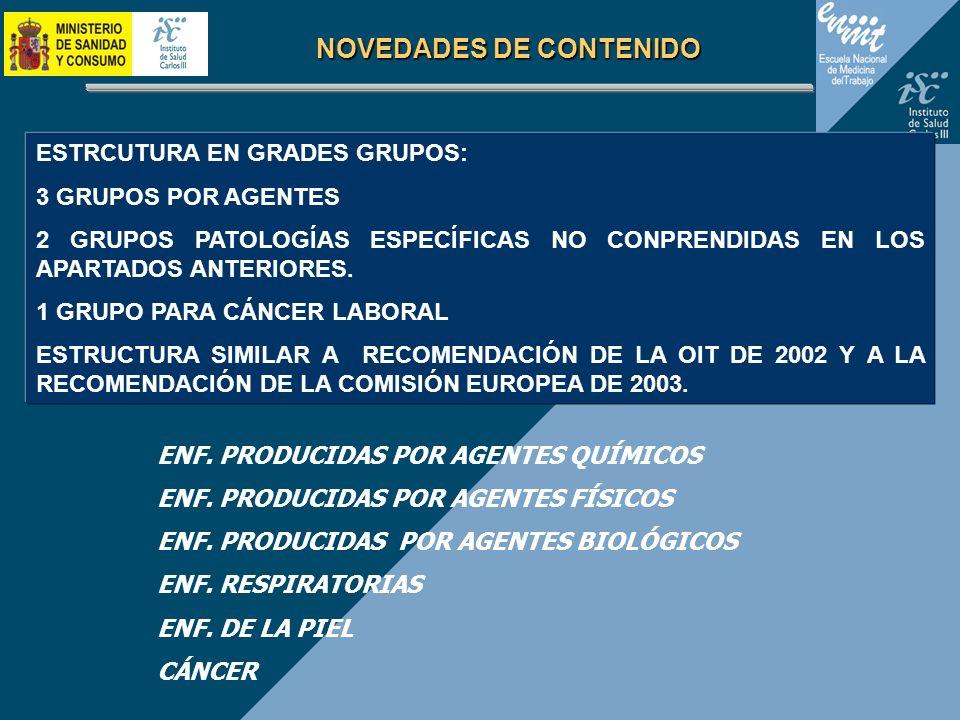 NOVEDADES DE CONTENIDO