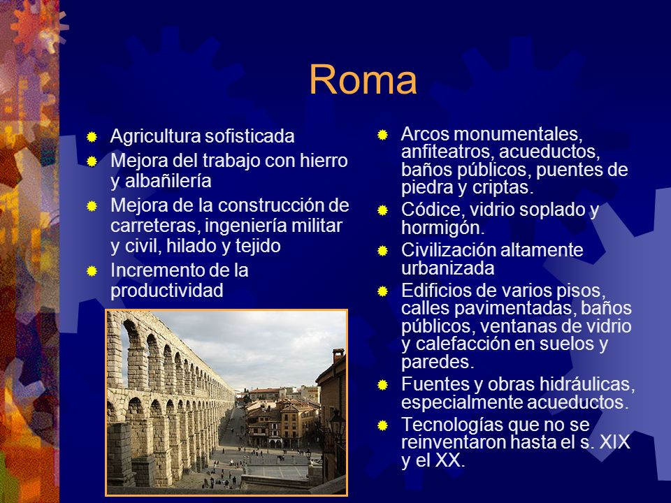 Roma Agricultura sofisticada