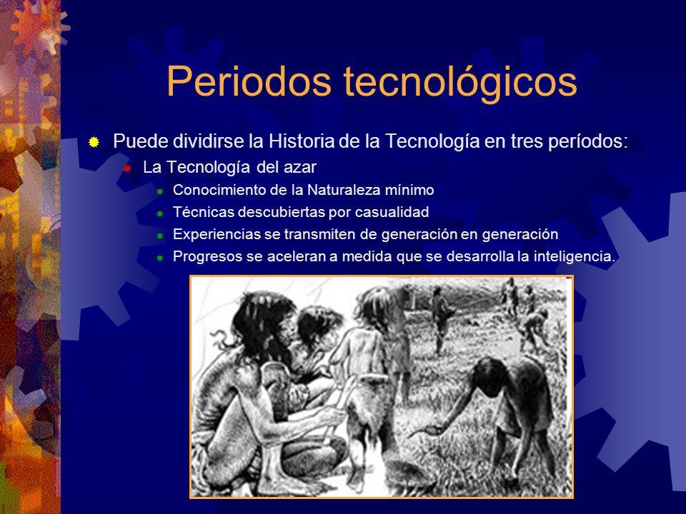 Periodos tecnológicos