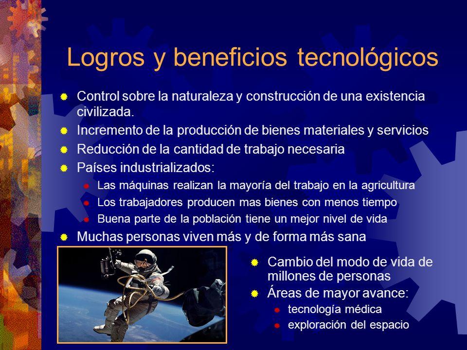 Logros y beneficios tecnológicos