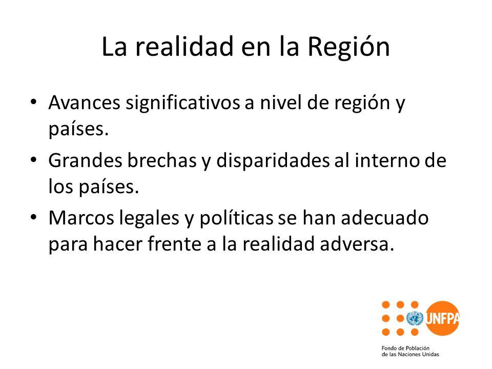 La realidad en la Región