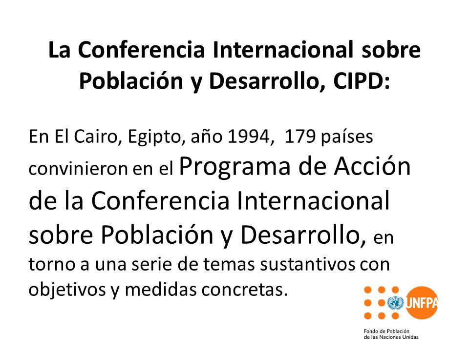 La Conferencia Internacional sobre Población y Desarrollo, CIPD: