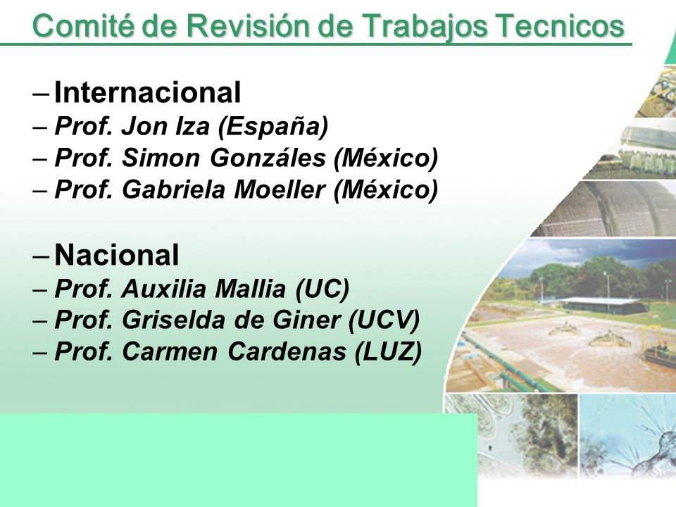 Comité de Revisión de Trabajos Tecnicos