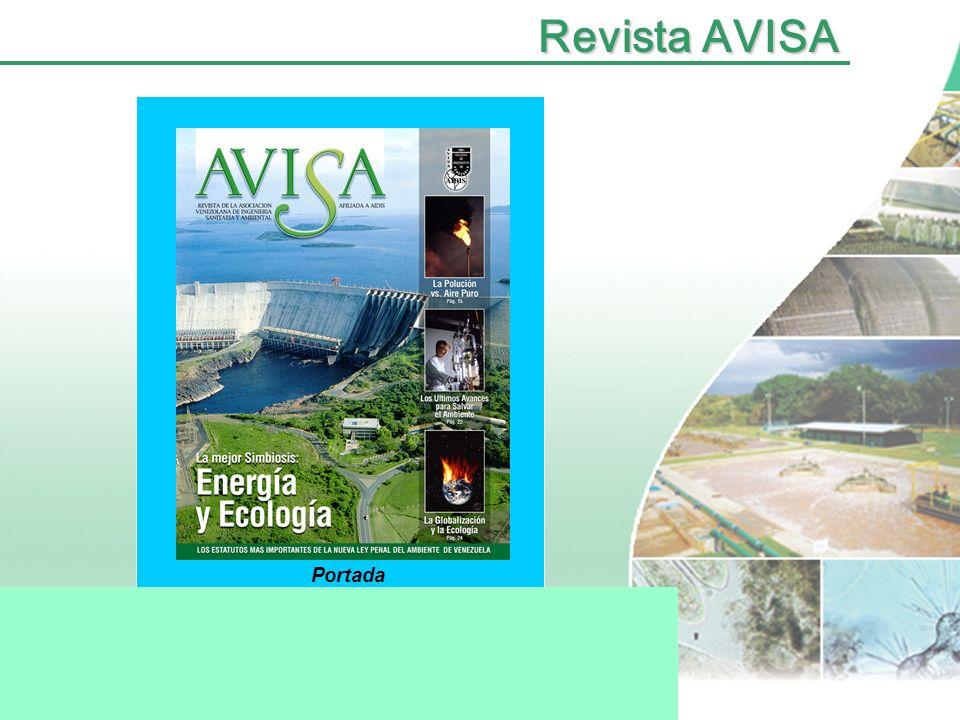 Revista AVISA Portada