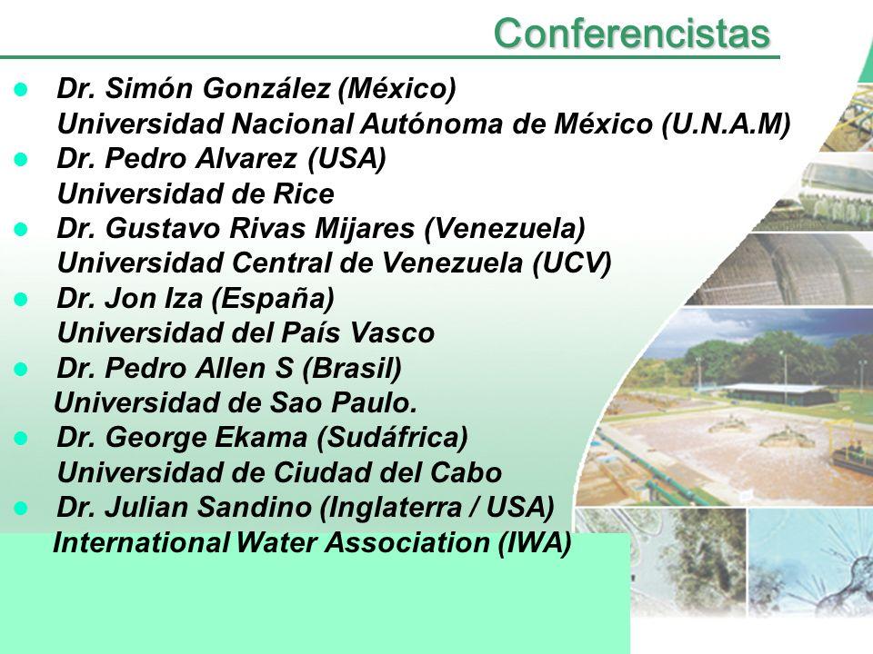 Conferencistas Dr. Simón González (México)