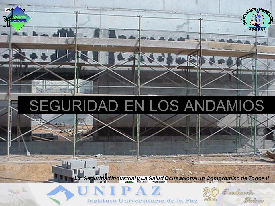 SEGURIDAD EN LOS ANDAMIOS