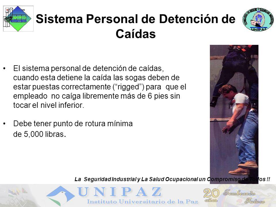 Sistema Personal de Detención de Caídas