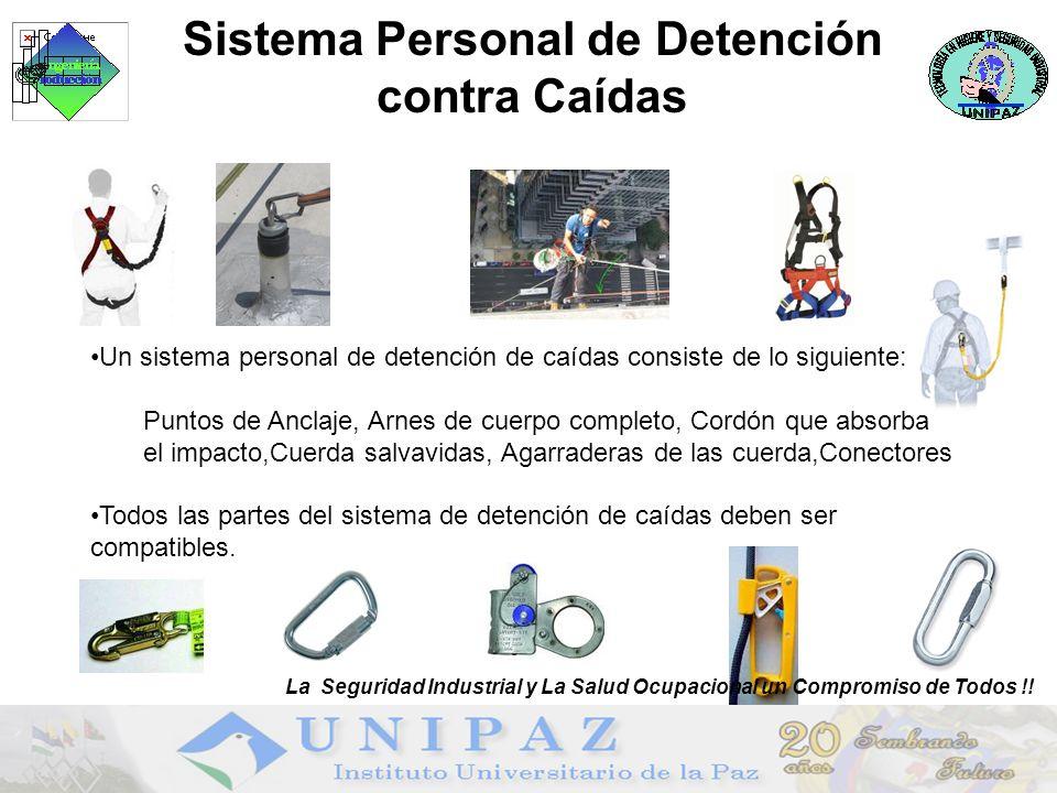 Sistema Personal de Detención contra Caídas