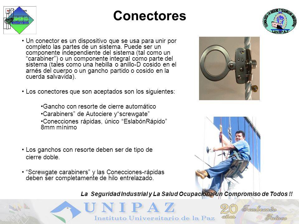 Conectores La Seguridad Industrial y La Salud Ocupacional un Compromiso de Todos !!