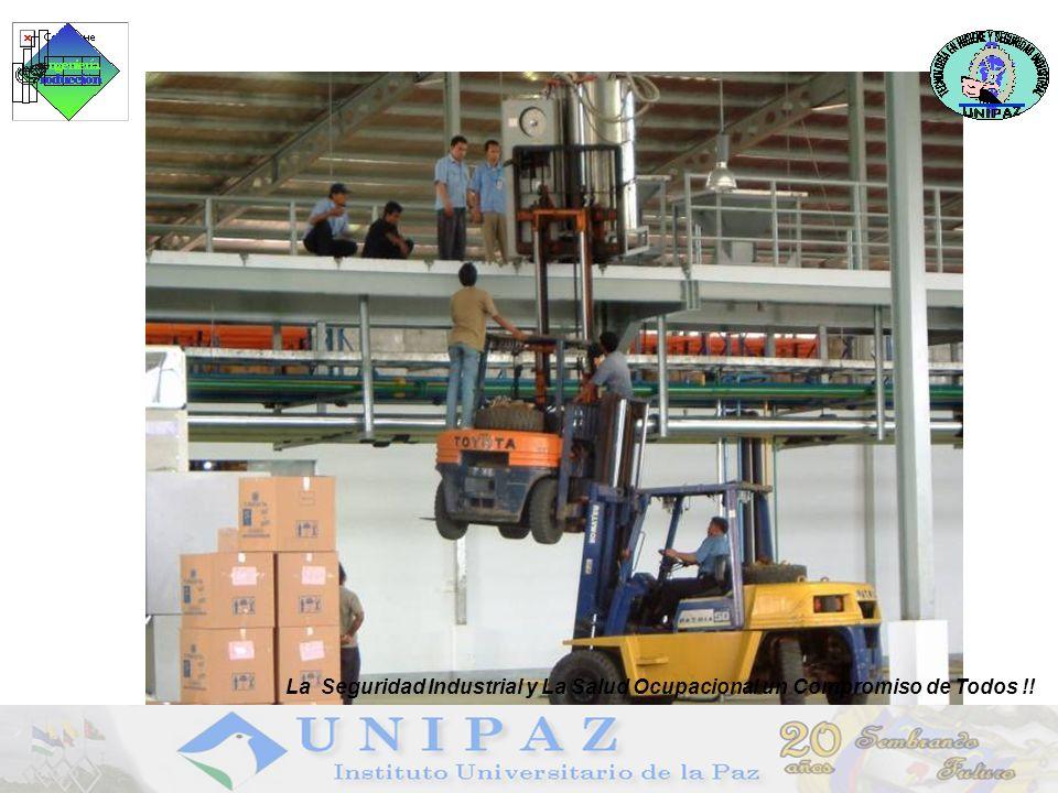 La Seguridad Industrial y La Salud Ocupacional un Compromiso de Todos !!