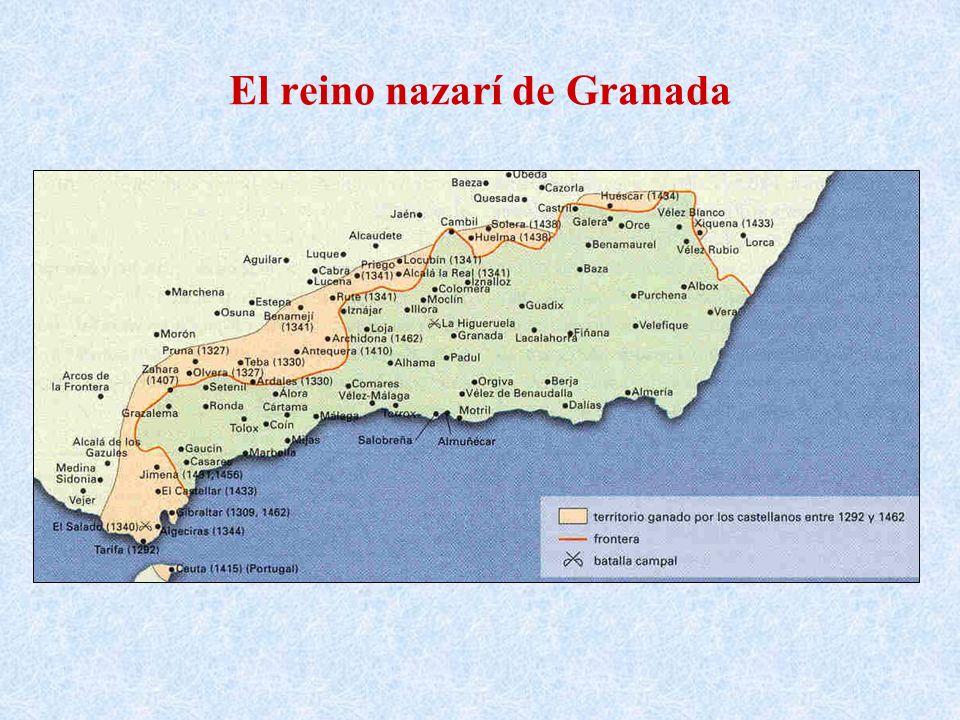 El reino nazarí de Granada