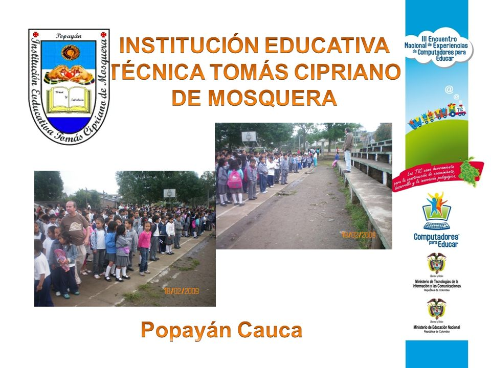 INSTITUCIÓN EDUCATIVA TÉCNICA TOMÁS CIPRIANO DE MOSQUERA