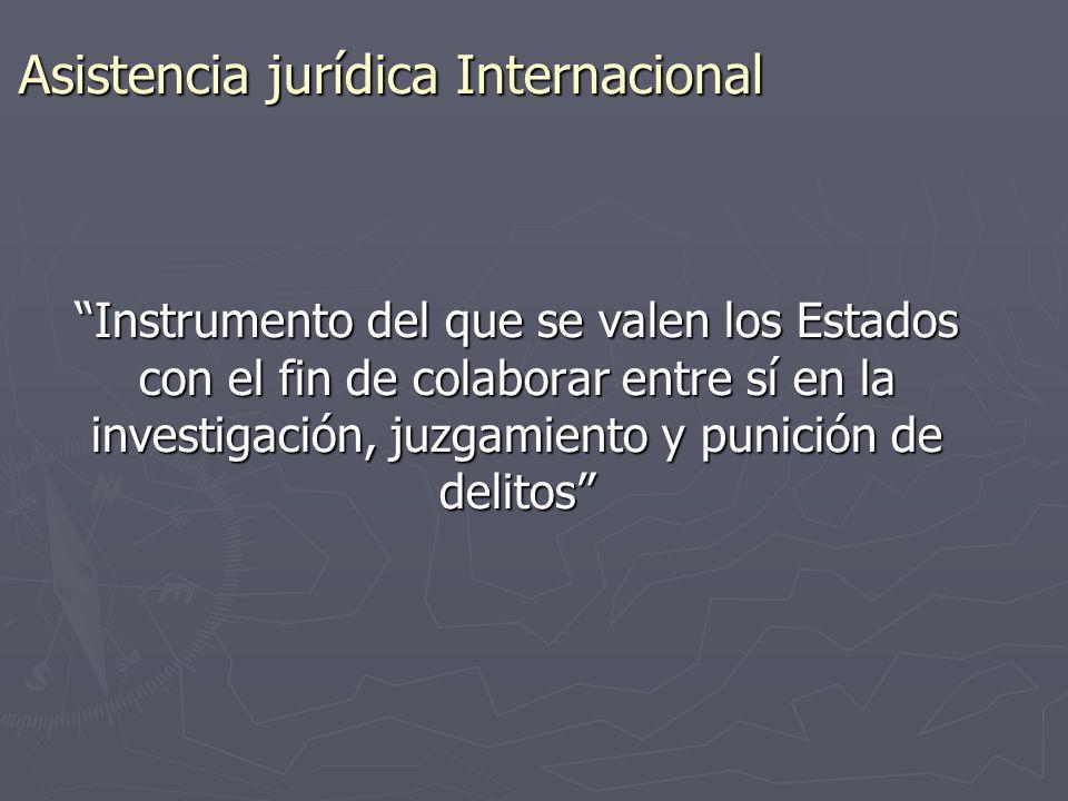 Asistencia jurídica Internacional