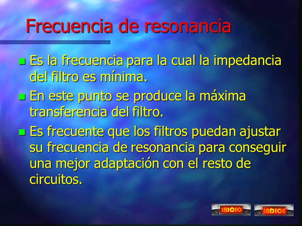 Frecuencia de resonancia