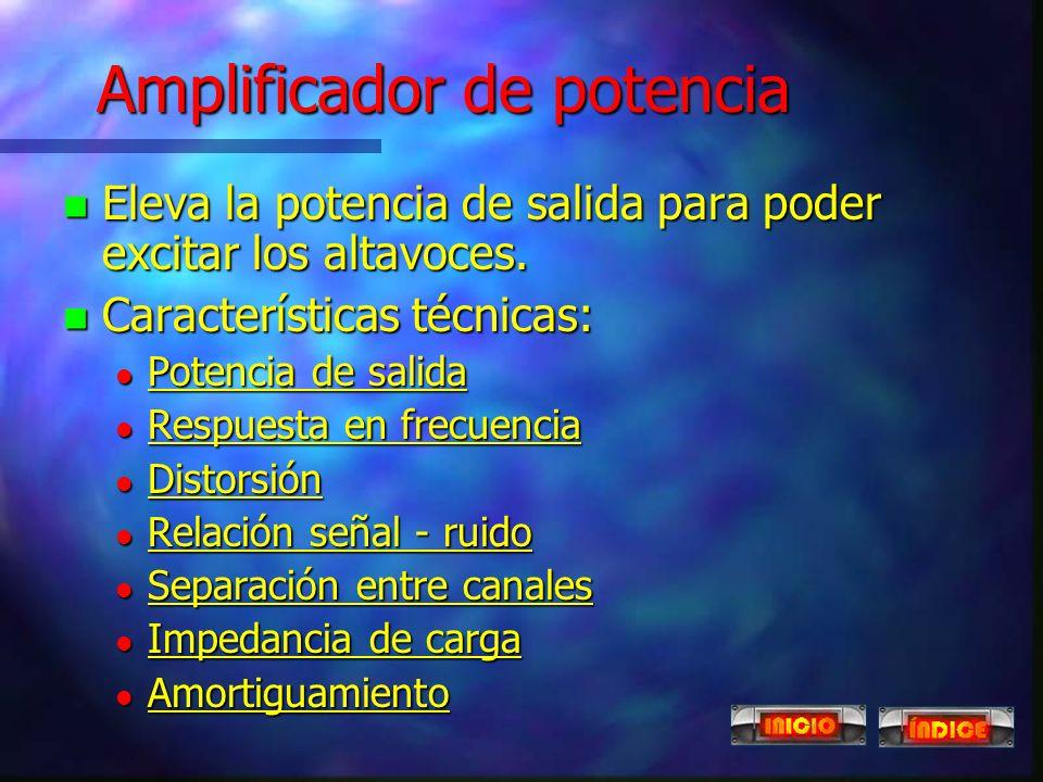 Amplificador de potencia
