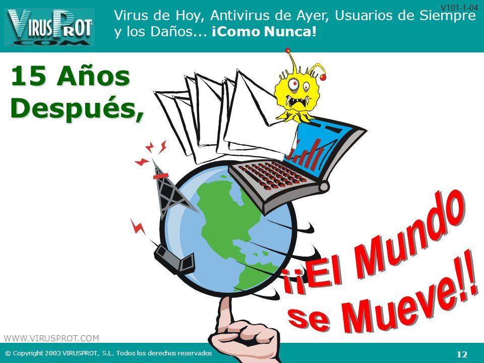 V101-1-04 15 Años Después, ¡¡El Mundo se Mueve!!