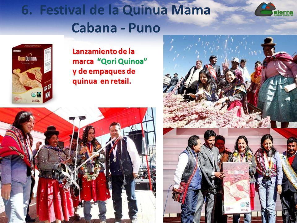6. Festival de la Quinua Mama Cabana - Puno