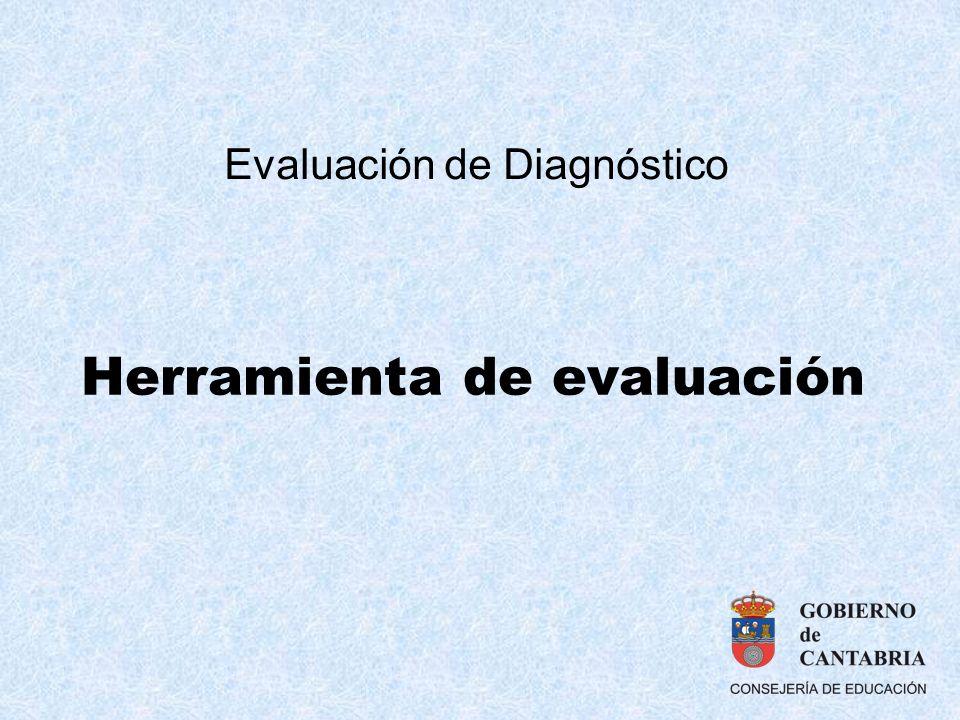 Herramienta de evaluación