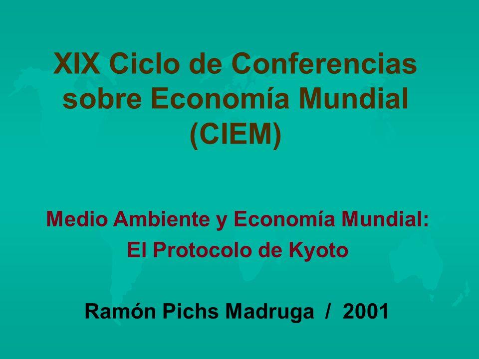 XIX Ciclo de Conferencias sobre Economía Mundial (CIEM)