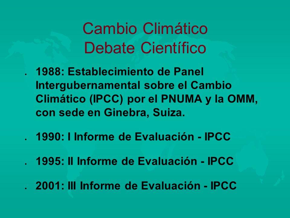 Cambio Climático Debate Científico