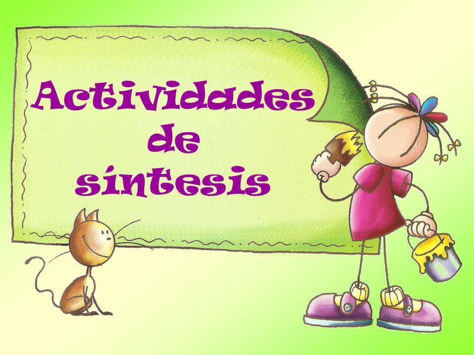 Actividadesde síntesis
