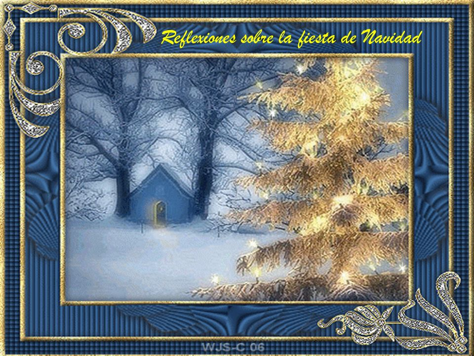 Reflexiones sobre la fiesta de Navidad