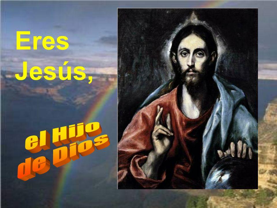 Eres Jesús, el Hijo de Dios