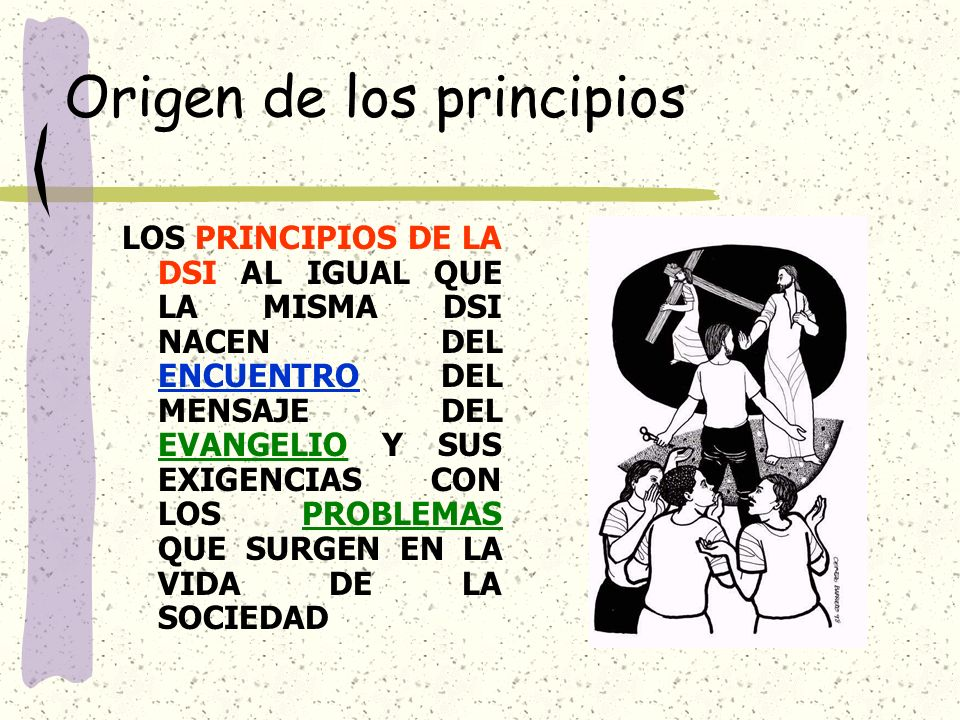 Origen de los principios