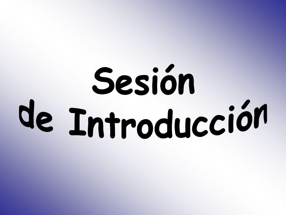 Sesión de Introducción