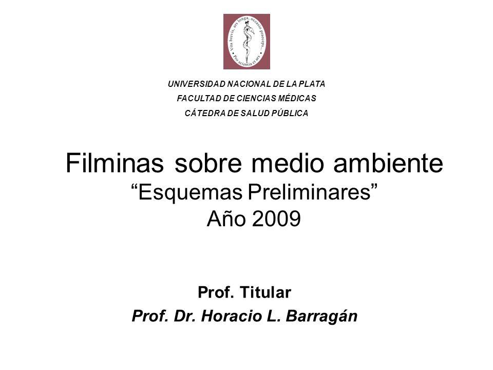 Filminas sobre medio ambiente Esquemas Preliminares Año 2009
