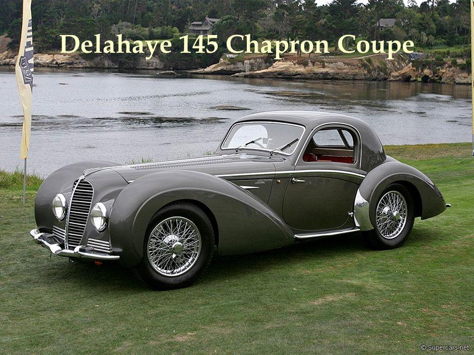 Delahaye 145 Chapron Coupe
