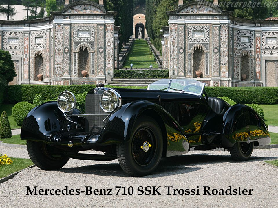 Mercedes-Benz 710 SSK Trossi Roadster