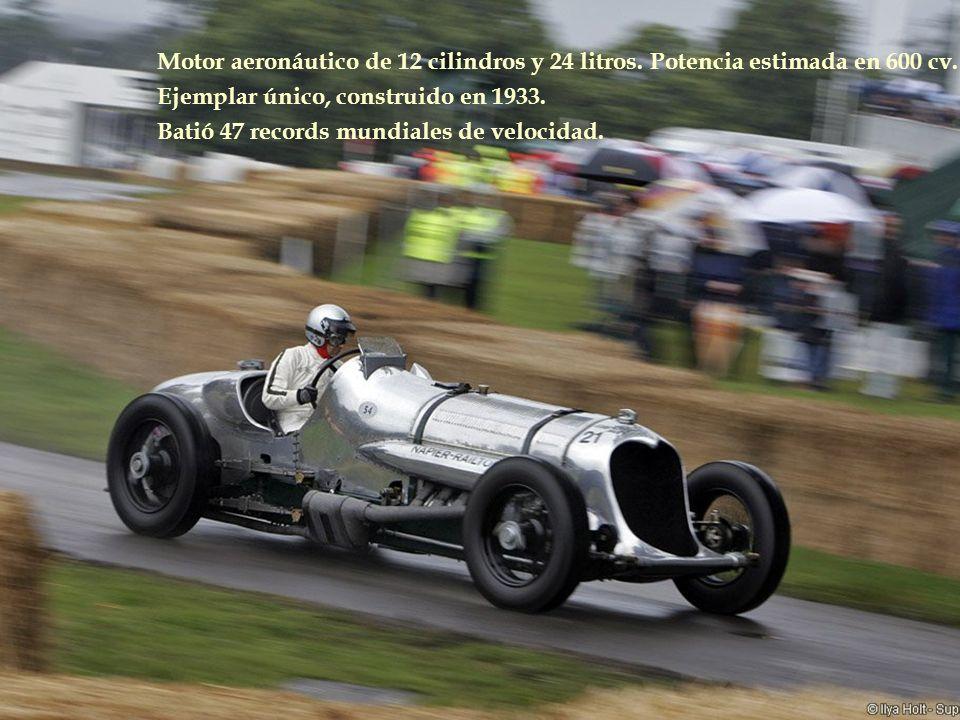 Motor aeronáutico de 12 cilindros y 24 litros