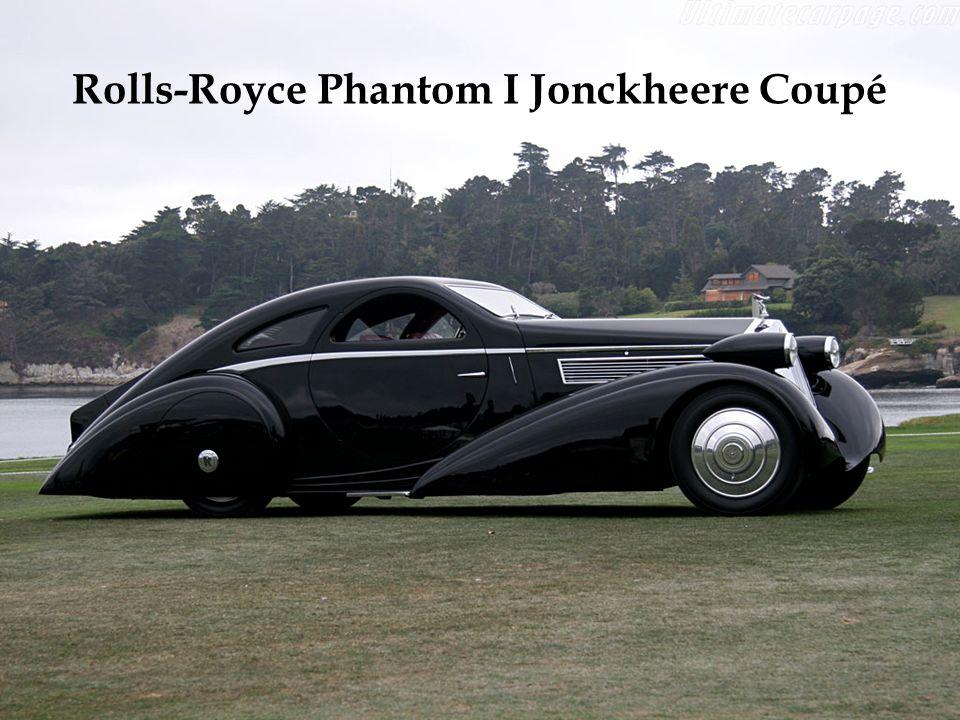 Rolls-Royce Phantom I Jonckheere Coupé