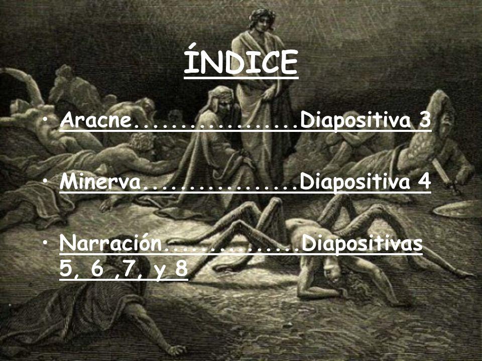 ÍNDICE Aracne..................Diapositiva 3