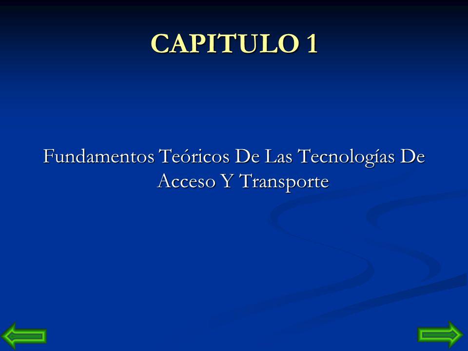 Fundamentos Teóricos De Las Tecnologías De Acceso Y Transporte