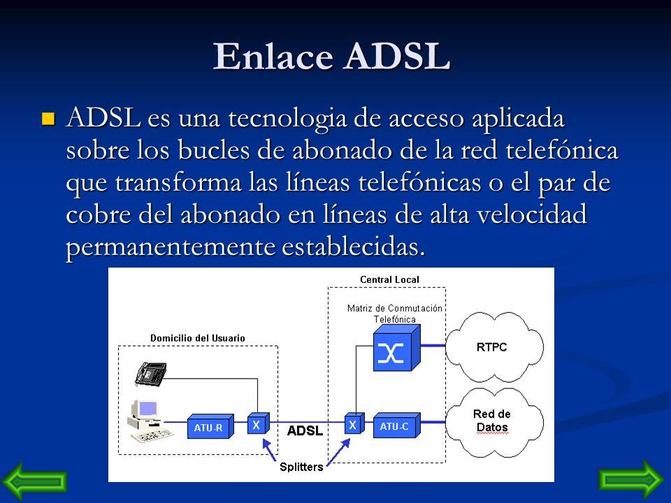 Enlace ADSL