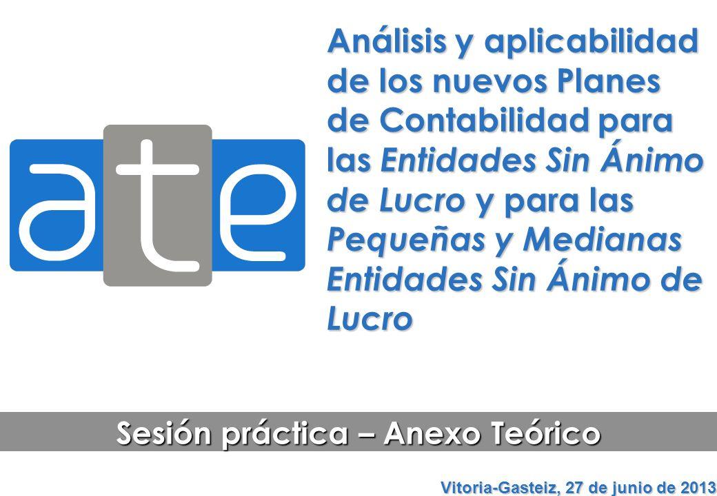 Sesión práctica – Anexo Teórico Vitoria-Gasteiz, 27 de junio de 2013