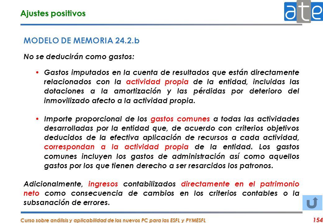 Ajustes positivos MODELO DE MEMORIA 24.2.b