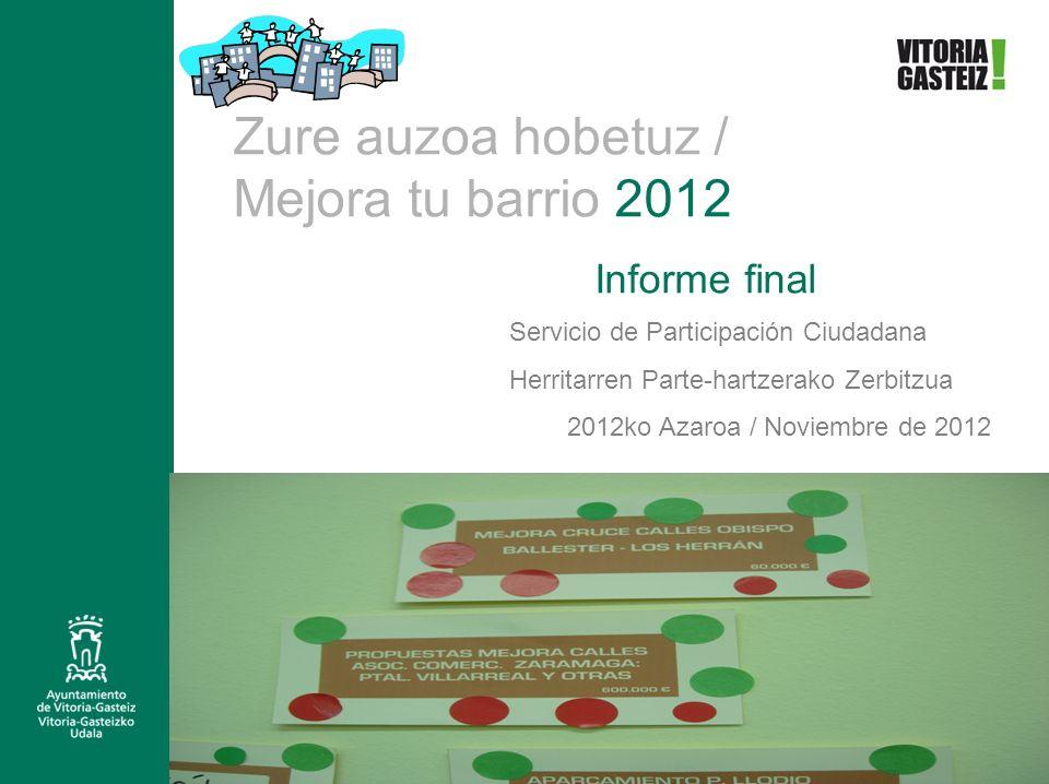2012ko Azaroa / Noviembre de 2012