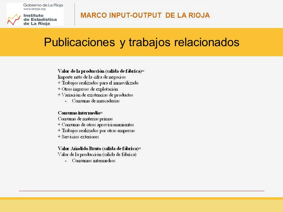 Publicaciones y trabajos relacionados