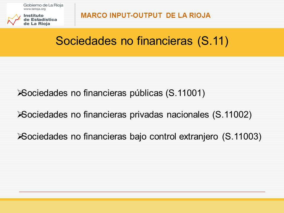 Sociedades no financieras (S.11)