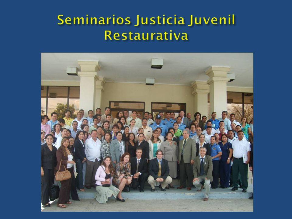 Seminarios Justicia Juvenil Restaurativa