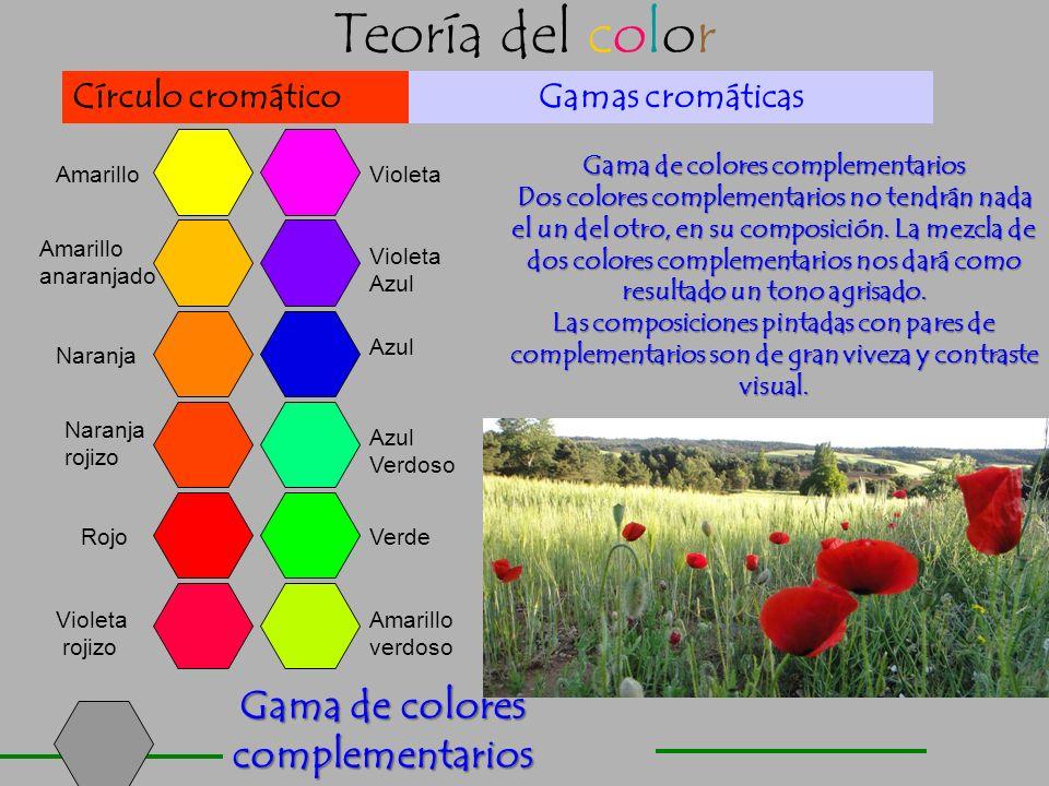 Gama de colores complementarios Gama de colores complementarios